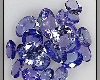 5 ct Tanzanite Gemstone Mixed Lot 21 Pieces