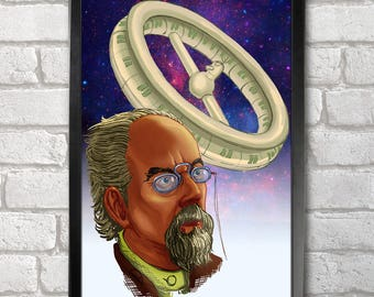 Konstantin Tsiolkovsky Poster Print A3+ 13 x 19 in - 33 x 48 cm  Buy 2 get 1 FREE
