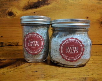 Rosemary Chamomile || All Natural Bath Salts || Relaxation, Detoxification, Soothing, Therapeutic || Aromatherapy