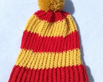 Gryffindor Knitted Beanie Hat