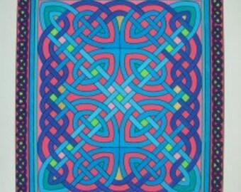 The Eternal Knot - Original Celtic Painting