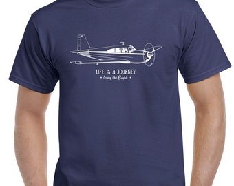 Life Is A Journey.....Enjoy The Flight  tee   FREE SHIPPING