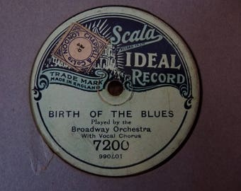 Birth Of The Blues 78RPM record by The Broadway Orchestra