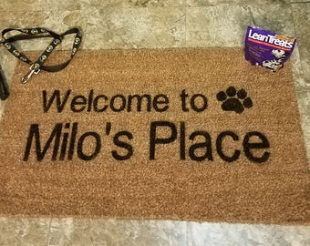 Pet Lover's Welcome Doormat