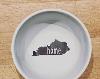 CUSTOMIZABLE State Outline Home Dish