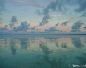 """Sunrise Exploration, """"Reflecting Sky"""""""