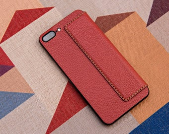 iphone 7 plus leather cover, iphone 7 leather cover, leather iphone case, iphone 6 case, iphone wallet case, phone Accessories