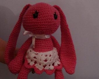 Handmade amirugumi Bunny