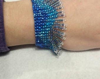 Ocean Dreams-Unique Fringe Bracelet