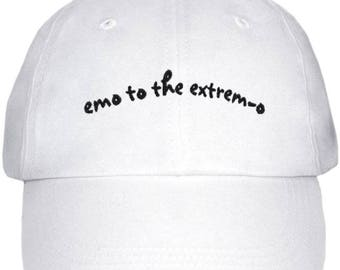 emo to the extrem-o low profile dad hat