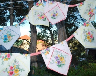 Pretty Handkerchief Bunting (number 2)