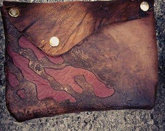 Zombie Apocalypse Clutch/ Purse/Makeup Bag