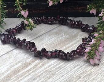 GARNET Crystal Bracelet