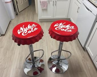Handmade Fallout Nuka Cola Barstools