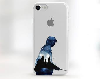 harry potter phone case iphone 7 plus case harry potter iphone case iphone 6s clear case potter 6 plus transparent case clear iphone SE case