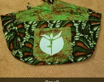 Yoganda Bag Small- Green/Orange