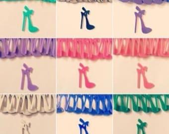 Acrylic bow Heel