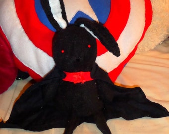B rabbit plushie