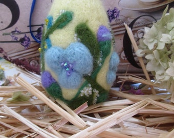 Egg Easter Decoration Needle Felted Eggs Easter Gift for her Easter.