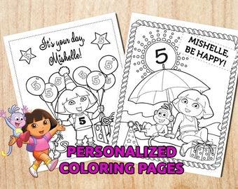 Dora printable  Etsy