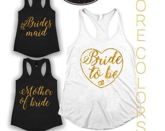 Bride Tank Top. Bridal Shirt. Bridal Tank Top. Bachelorette Shirt. Bachelorette Tank. Wedding Tank. Bride Shirt. Bride Glitter Top.