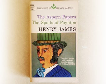 Henry James - The Aspern Papers & The Spoils of Poynton - vintage paperback book - 1973
