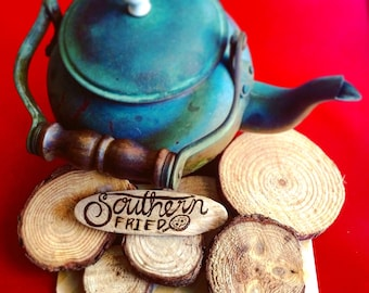 Southern Fried Driftwood Magnets