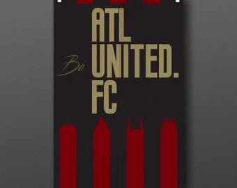 Atlanta United poster