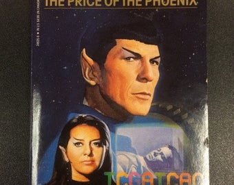 Star Trek: The Price Of The Phoenix Novel by Sondra Marshak & Myrna Culbreath