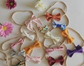 10 FOR 10 || Fabric Headbands | Baby Bows | Girls Bows | Classic Bows | Nylon Elastic