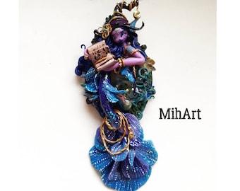 Magic mermaid peacock pearl