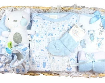 Gift Basket for a Baby Boy