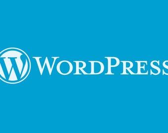 Setup and create a wordpress site