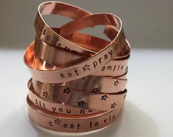 Handmade, customize bracelets