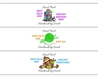 Keep Calm Wrapping Labels (PDF FILE ONLY)