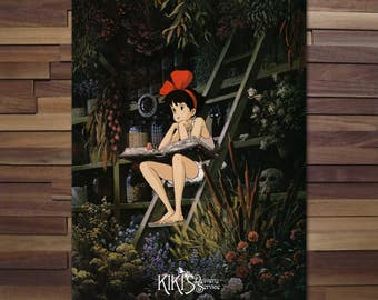 Kiki's Delivery Service Poster - Canvas