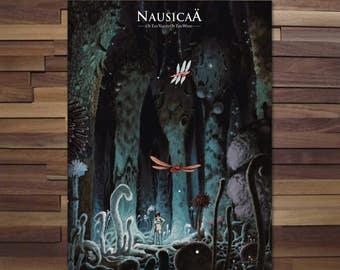 Naussicaa of the valley of the wind Poster -Canvas / studio ghibli film