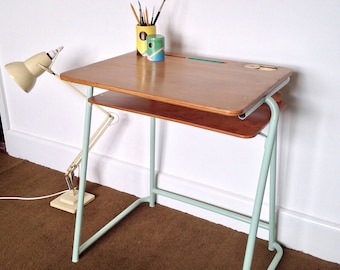 Original Esavian School Desk, Gorgeously Reconditioned.