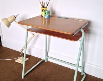 Original Esavian School Desk, Gorgeously Reconditioned.