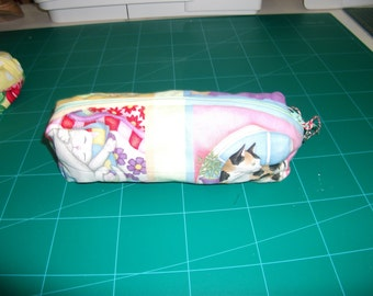 Cat zipped pouch
