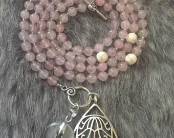 Rose Quartz Serenity Beads