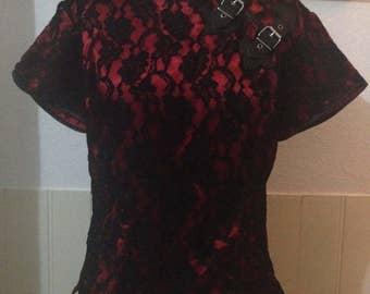 Dark star gothic oriental shirt