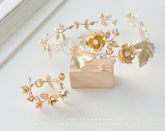 Hair Accessories - Flowers Vintage style