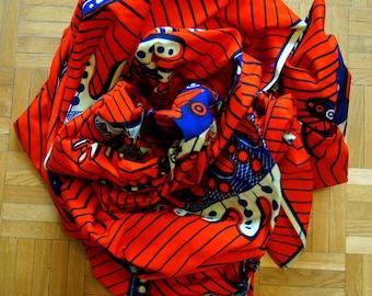 AKWUKWO - African wrap by Kedu of Nigeria, (Kanga/Kitenge/baby carrier)