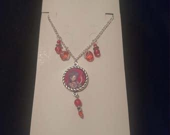 Sailor Mars  [Sailor Senshi] Red Necklace