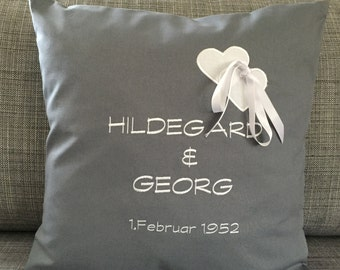 Wedding cushion for monetary gifts