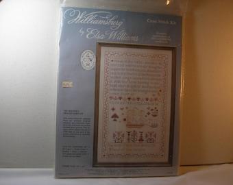 Williamsburg Elsa Williams The Maiden's Prayer Sampler Kit