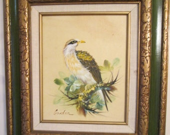 Eagle on the Branch Oil Panting/ Framed