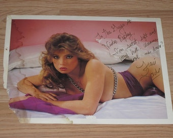 Vintage Traci Lords Signed Promo Photo