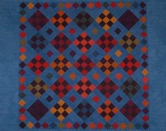iowa nine patch quilt